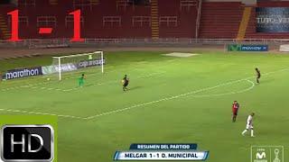 Melgar vs. Deportivo Municipal (1-1) ▬ Torneo Apertura(RESUMEN & GOLES ) 12-03-2016