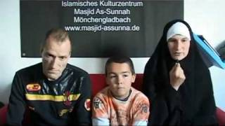 Christian German Family Converted to Islam 2010
