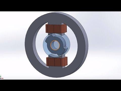 magnetfelder einfach berechnen in 3d solidworks. Black Bedroom Furniture Sets. Home Design Ideas