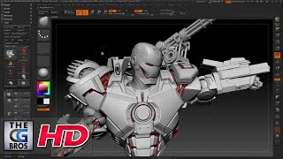 cgi 3d tutorial hd war machine zbrush tutorial by joe grundfast