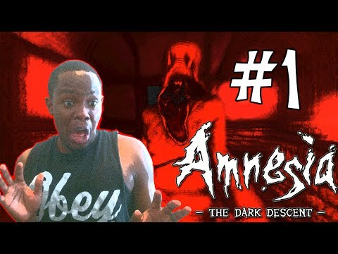 Black Guy Plays: Amnesia - The Dark Descent - PART 1 | Amnesia Reactions | Scary Video Games
