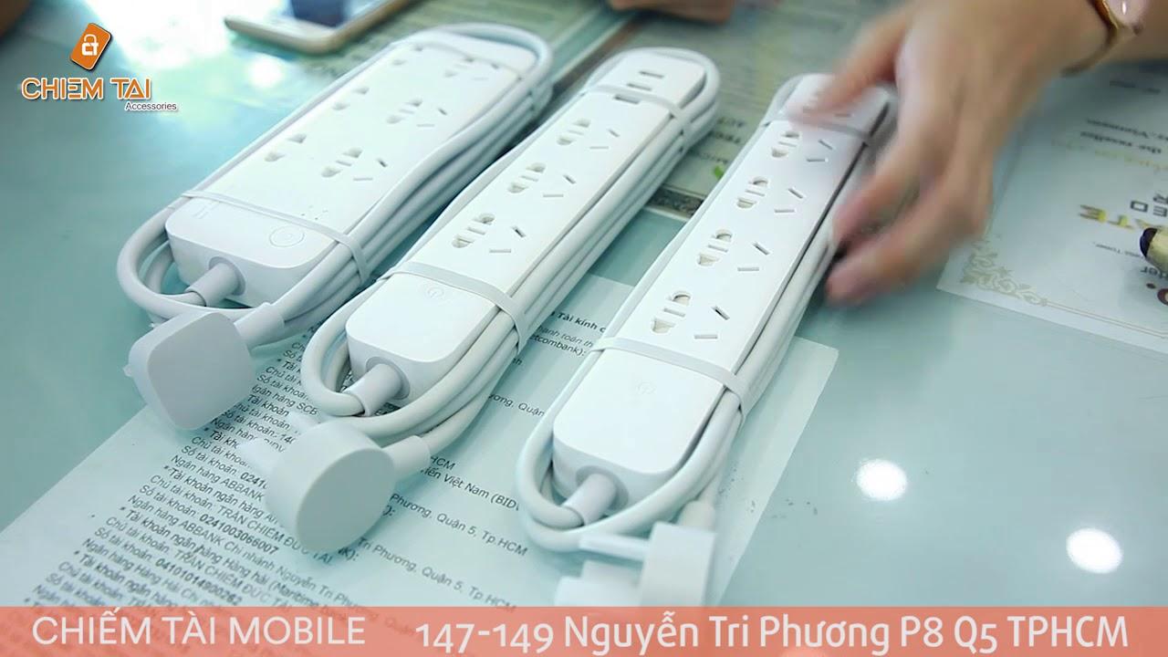 [Chiếm Tài Mobile] – Giới thiệu Ổ cắm thông minh Xiaomi đo dòng điện, công suất 2500W – phát wifi