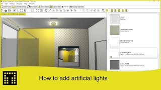 How to import arificial lights