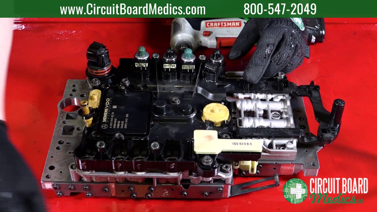 How to Install a Mercedes-Benz 722 9 Conductor Plate (TCM) and Valve Body |  7G-Tronic