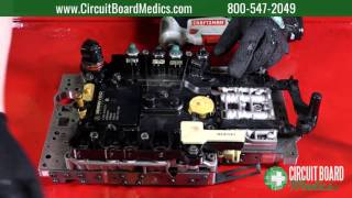 how to install a mercedes benz 722 9 conductor plate tcm and valve body   7g tronic