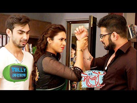 Ishita Stops Raman From Slapping Adi   Ye Hai Mohabbatein   Star Plus