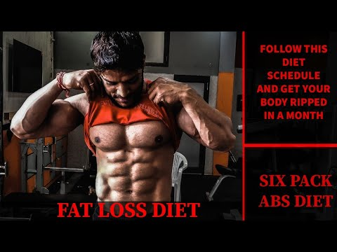 FAT LOSS DIET | SIX PACK ABS DIET | How to loss belly fat | Episode#1 | Rahul Fitness Official