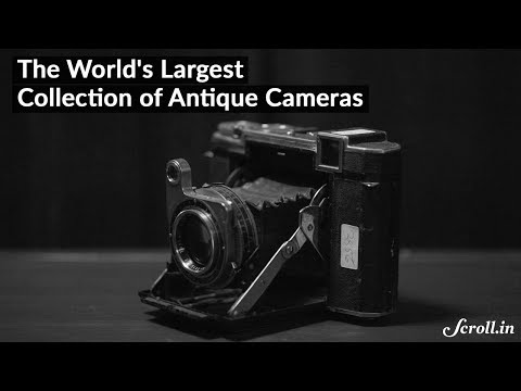 The Antique Camera Collector of Mumbai