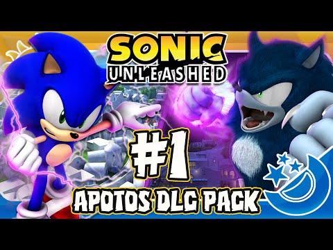 Sonic Unleashed DLC - Part 1 Apotos Adventure Pack COMPLETE (1440p)