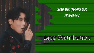 Download SUPER JUNIOR - Mystery Line Distribution (Color Coded)