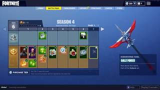 FORTNITE SEASON 4 BATTLE PASS REVIEW may 1