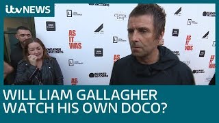 Liam Gallagher says 'bags are packed' for Oasis reunion at 'As It Was' premiere | ITV News