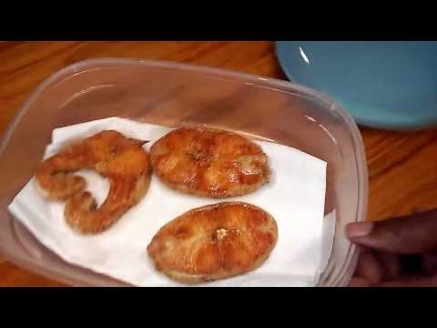 How To Fry Catfish Steaks - Simple Cooking With Eric