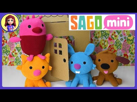 Sago Mini Friends Plush Toys Gift Pack Set Unboxing Review and Play - Kids Toys