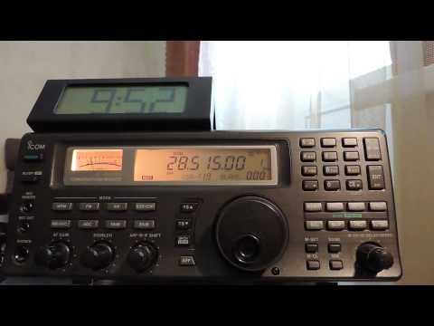 28515kHz,Ham Radio,9N7BM(Kathmandu,Nepal)