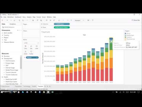 Creating Interesting stories with Tableau