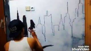 Video Desain kamar Mural Melukis  gambar tembok arts drawing download MP3, 3GP, MP4, WEBM, AVI, FLV Agustus 2018