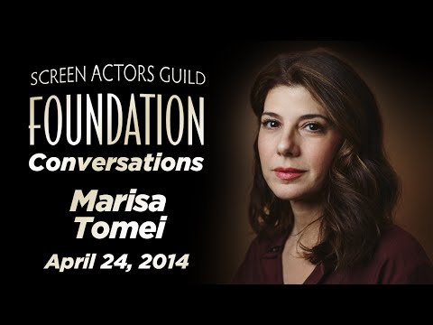 Conversations with Marisa Tomei