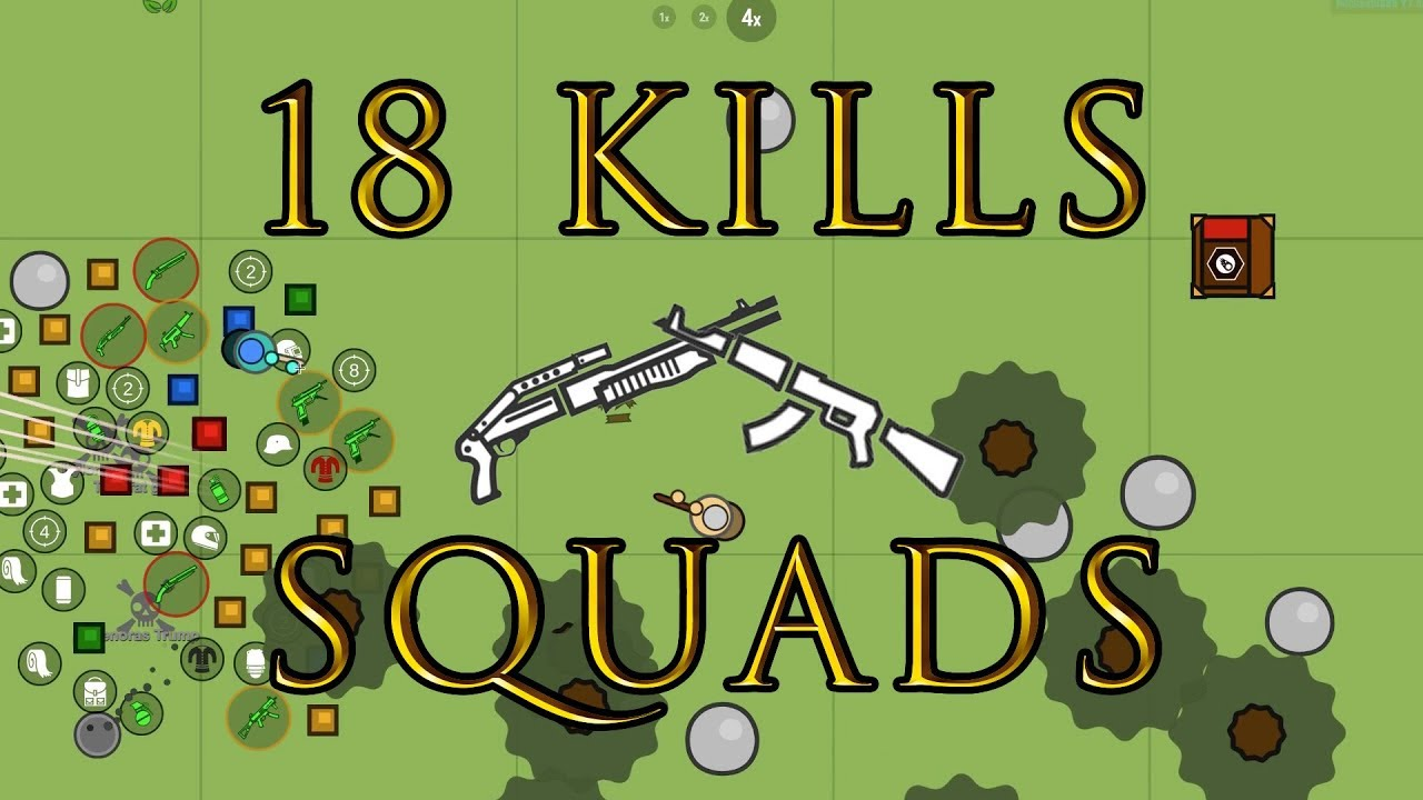 18 SOLO KILLS IN SQUADS   Surviv io - Видео на мобильник!