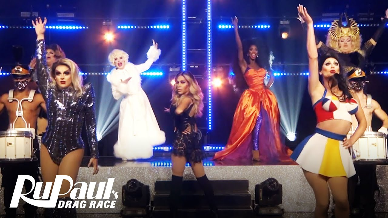 Download The Hall of Fame Halftime Show 👠🎤  RuPaul's Drag Race All Stars