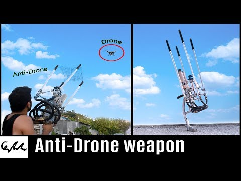 Download Youtube: Homemade drone catcher