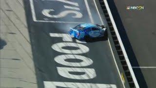 NASCAR K&N Pro Series East 2018. Bristol Motor Speedway. Jesse Iwuji Crash
