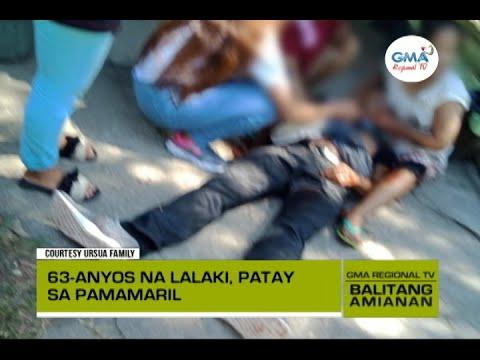 Download Balitang Amianan: Lalaki, Pinagbabaril