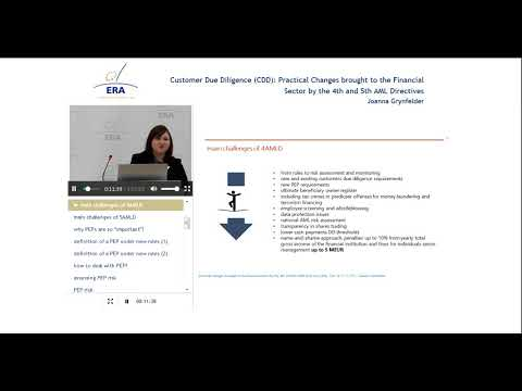 Customer Due Diligence (CDD): Practical Changes brought to the Financial Sector
