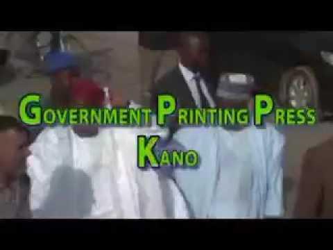 Government Printing Press Kano. By Alh. Abba Shehu