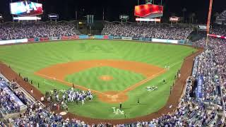 Dodgers Justin Turner's Walk-Off Home Run in Game 2 of NLCS Against Cubs
