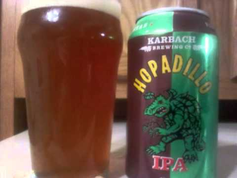 Karbach Hopadillo IPA Beer Review