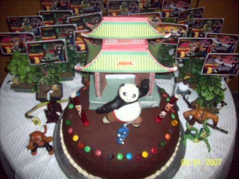 how to make kung fu panda fondant