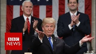 State Of The Union: 'Americans are dreamers too' Donald Trump - BBC News