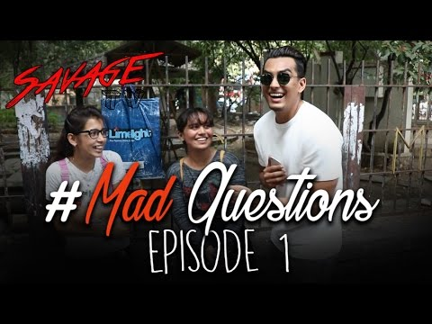 Mad Questions | Episode 1 | Fergusson College Road | Pune | #SavageTV