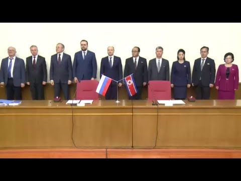 Protocol Inked between DPRK, Russia