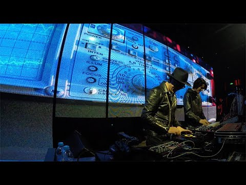 live set at Club One Third, Beijing, 20180117