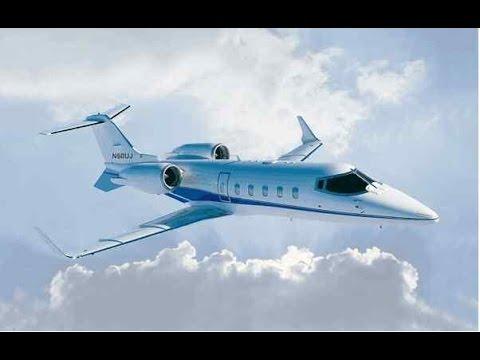 Полёт на Bombardier Learjet 45 (default)  FSX.