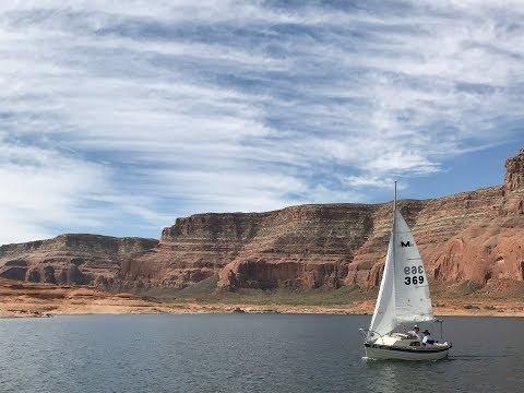 Sailing Pocket Cruisers on Lake Powell
