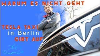 Einziger Tesla - Taxifahrer in Berlin gibt auf - Kein Platz zum aufladen -