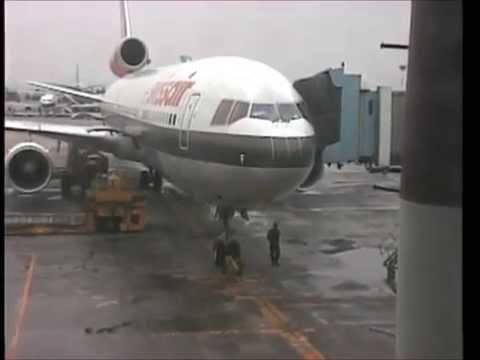 THE SIGHT & THE SOUND : Swissair MD-11 HB-IWF documentary from Seoul-Kimpo to Zurich
