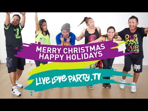 Merry Christmas Happy Holidays | Live Love Party | Zumba® | Dance Fitness Mp3