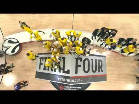 Euroleague Champion Fenerbahce gets the biggest cup in Europe