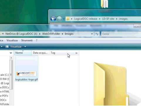 LogicalDOC WebDAV - YouTube
