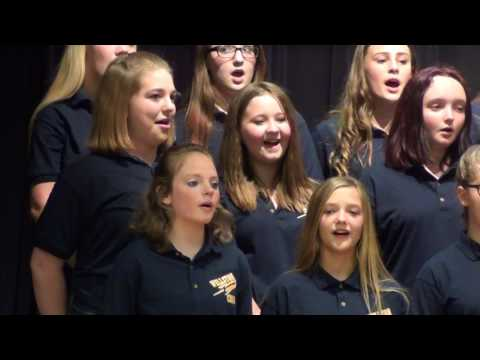 """A Thousand Years"" Wellston Middle School Choir."