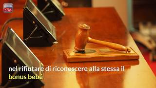 Torino, bonus bebè: cittadina albanese vince la causa in tribunale