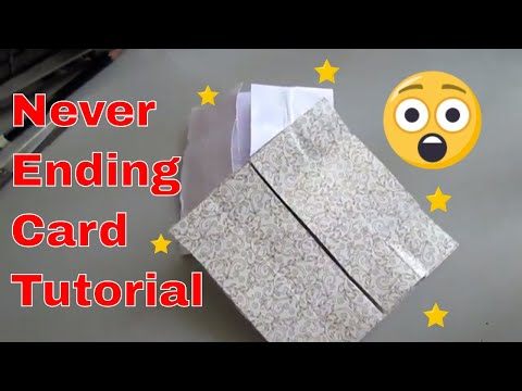 Never Ending Card/ Endless Card | Infinite Flipper Card | Prachi's Creative World