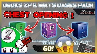 ZULA 📦 X30 CHEST OPENING 😍 MATERIEL/ZULA POINT/DECKS - OUVERTURE DE COFFRES [PC-FR-1080p-60FPS]