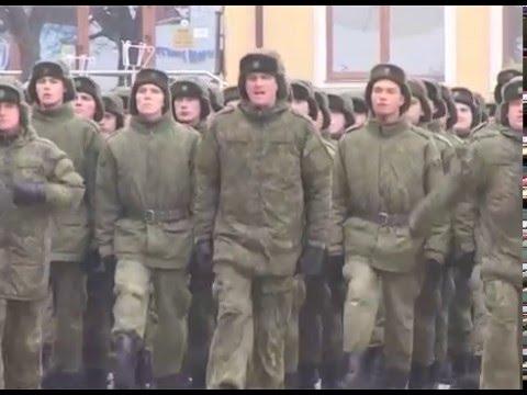 Торжественный парад в Валуйках (24.02.16)