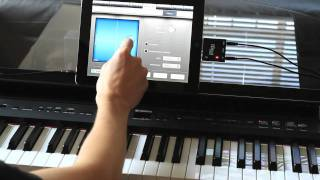 Music Studio and iRig MIDI