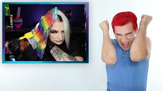 Hairdresser Reacts To People Using My Color Line!